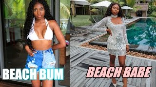 CHATTY GET READY WITH ME - BEACH BUM TO BEACH BABE HOLIDAY EDITION