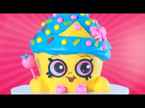 SHOPKINS CUPCAKE QUEEN CAKE - NERDY NUMMIES