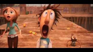 Cloudy With A Chance Of Meatballs - Βρέχει Κεφτέδες (HD Trailer2 2010)