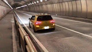 VW Golf 7,5 R Performance Akrapovic Straight Pipes Exhaust Launch Control アクラポビッチ 中間ストレート