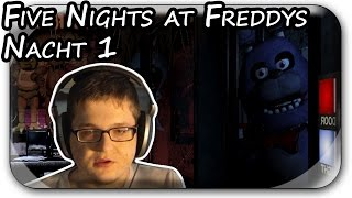 MIESER JOB | Five Nights at Freddys Let's Play Nacht #01 | PC Deutsch German