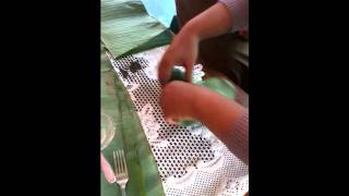 how to make a fermented cassava (tape singkong)