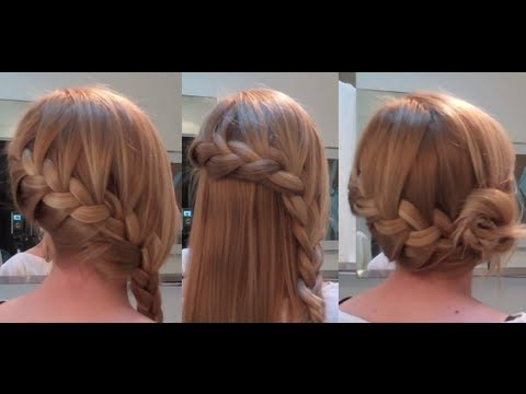 10 Easy Quick Everyday Hairstyles for long hair Side French Braid Edition