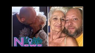 Cougar, 82, prepares for sex with 39-year-old lover by doing THIS bizarre exercise routine