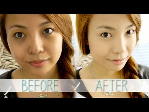 How To:  Apply Cake Foundation (For Oily Skin)