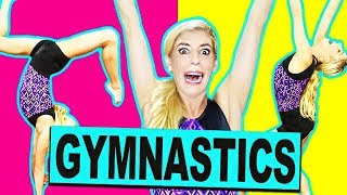 Ultimate ABC Gymnastics Challenge ( Trying Flipping and Tumbling Skills)