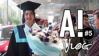 AKHIRNYA WISUDA l #A!Vlog 5