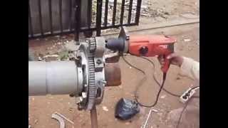 Mesin Gulung Kumparan Sensor Regangan Sling Suramadu Brigde 1