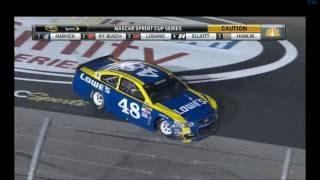2016 Bojangles 500 - Johnson Crash