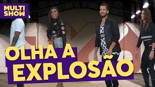 Olha a Explosão - Coreografia | MC Pocahontas + FitDance | TVZ Ao Vivo