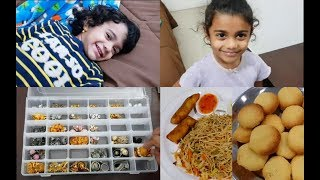 Night Routine - Organizing Earring & Hair Bow - Ghee Biscuits Without Oven