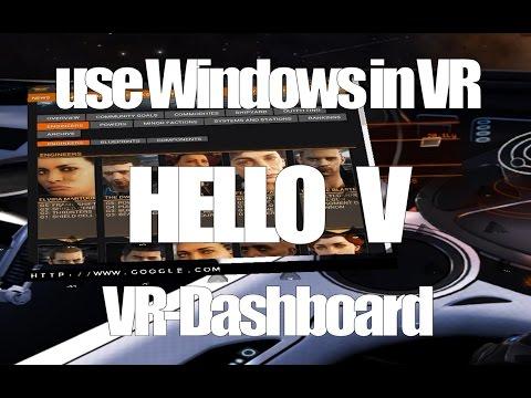 Xxx Mp4 Hello V VR Dashboard Use Windows Overlay In VR Elite Dangerous Rift 3gp Sex