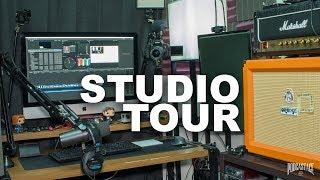 Podcast & YouTube Studio / Setup Tour (2018)