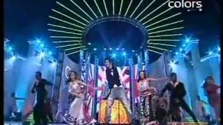 Shahrukh Khan Dance Performance [HD] Apsara Awards 2011.flv