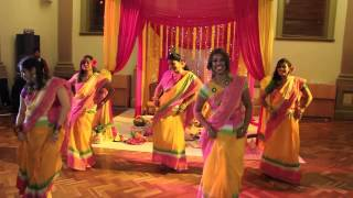 Gaye Holud Dance Bangla Wedding in Melbourne Australia