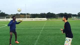 Martunis Ronaldo Skill on Training
