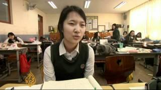 South Korea's exam suicides