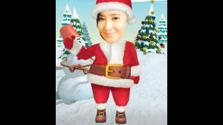 Yuri Christmas dance snsd 2012 funny