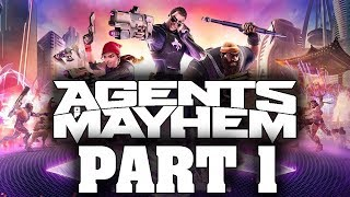 Agents Of Mayhem (FULL GAME) - Let's Play - Part 1 -