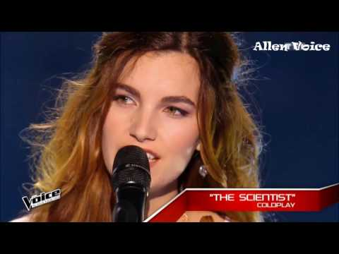 7 Girls Angelic Voice | The Voice | Blind Audition | WorldWide 2017 #part 2