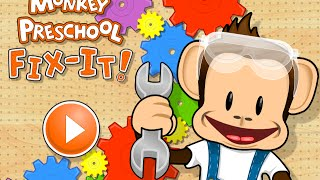 Monkey Preschool Fix It Educational Android İos Free Game GAMEPLAY VİDEO
