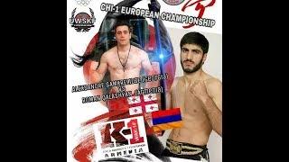 Roman (TORNADO) Kalashyan Armenia VS Alexandr Gamkrelidze Georgia