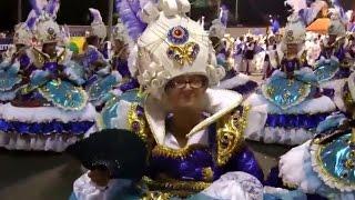 BAIANAS FROM BRAZIL CARNIVAL: Rio Parades Footage