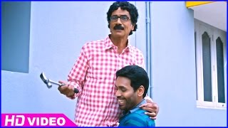 Azhagiya Pandipuram Tamil Movie - Manobala and M.S.Baskar fix ACs in their house