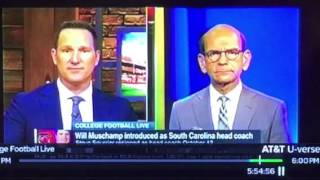 Danny Kanell On ESPN Blasts College Football For Not Hiring Black Coaches
