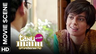 Loving Datto at the same time | Tanu Weds Manu Returns | Movie Scenes