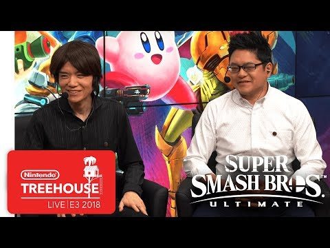 Super Smash Bros. Ultimate Gameplay Pt. 1 Nintendo Treehouse Live E3 2018