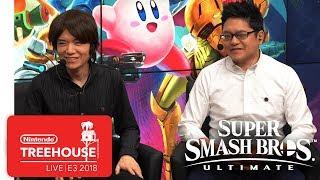 Super Smash Bros. Ultimate Gameplay Pt. 1 - Nintendo Treehouse: Live | E3 2018