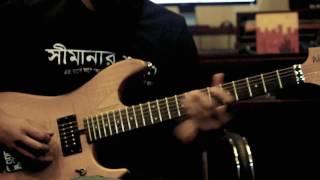 Iftekhar Khan Ika - Opekkhay by HeartzRelation (Riffing & Guitar Solo)