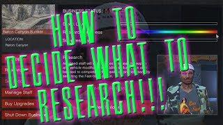 You CAN choose what to research!! GTA - GUNRUNNING