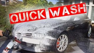 How To Properly Quick Wash A Car