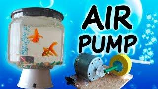 How to Make a Mini Air Pump  (Home aquarium)