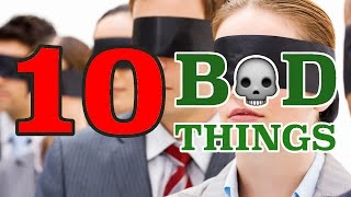 10 BAD THINGS THAT HAPPEN WHEN YOU SIN WILLFULLY !!!