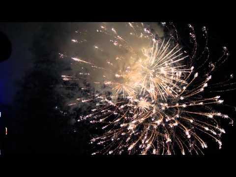 New Year 2012 Fireworks at Marina Bay