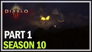 Diablo 3 - Season 10 Let's Play Part 1 - Demon Hunter Gameplay