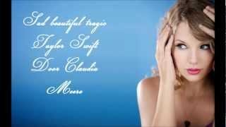 sad beautiful tragic taylor swift lyrics