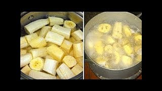 قم بشرب الموز و القرفة قبل النوم بساعة   و النتيجة ستذهلك حقا !