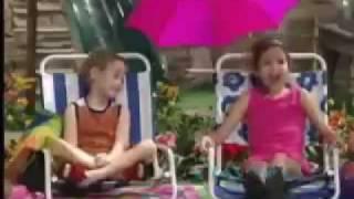 Demi Lovato and Selena Gomez - Barney & Friends Clip