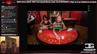 DEGEN Blackjack Action with LetsGiveItASpin!!