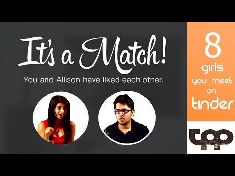 8 Girls You Meet on Tinder | Indian Edition | Teen Pathar Productions