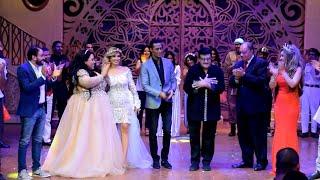 سمير غانم يرقص مع محمد رمضان بعد مشاهدة اهلا رمضان على خشبة مسرح الهرم