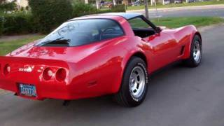 SOLD C3 1981 Red Coupe for 4 sale by Corvette Mike