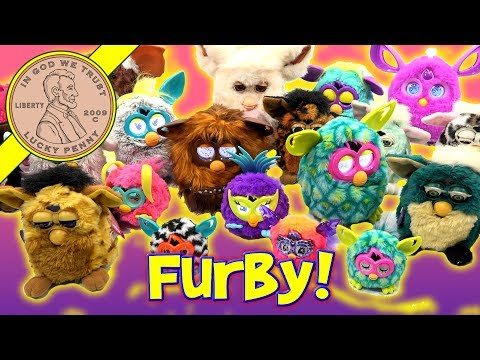 Furby Collection Bin Day Over 40 Tiger & Hasbro Furby 1998 2005 & 2012