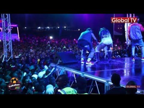 Mhe TEMBA Afanya MATUSI Jukwaani Mwanza / WASAFI FESTIVAL