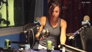 Kaitlyn Farrington the Ecto-Puker puking in front of Paul Feig - @opieradio @jimnorton