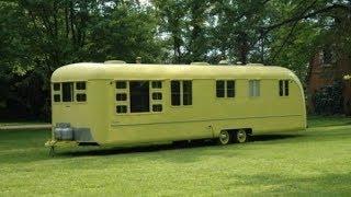Refreshed 1953 Vagabond Camper Trailer